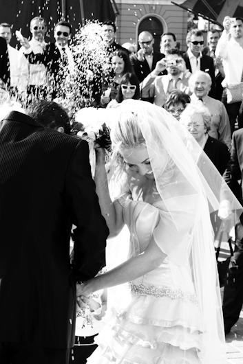 Lancio del riso sposi Cesenatico