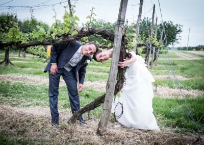 Sposi fra le viti