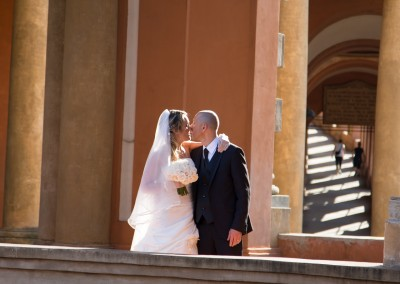 arco del meloncello portici di bologna fotografo al matrimonio