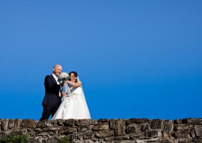 Cielo blu al matrimonio