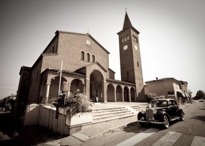 Matrimonio religioso nella chiesa di Malalbergo