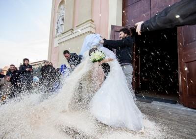 Matrimonio Zola Predosa Lancio del riso