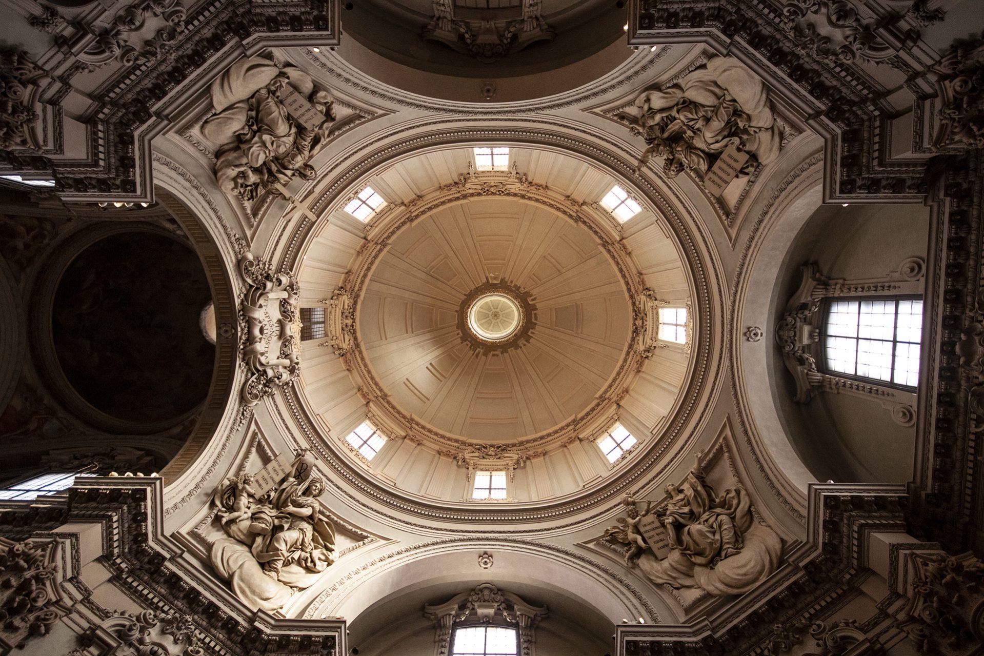 Fotografo per Eventi, soffitto chiesa