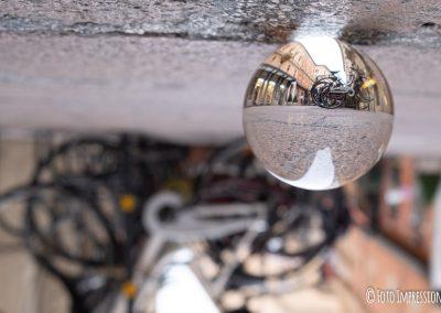Bologna in una bolla - Bici in Via D'Azeglio