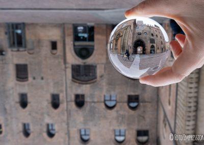Bologna in una bolla - Palazzo Re Enzo - Piazza Maggiore