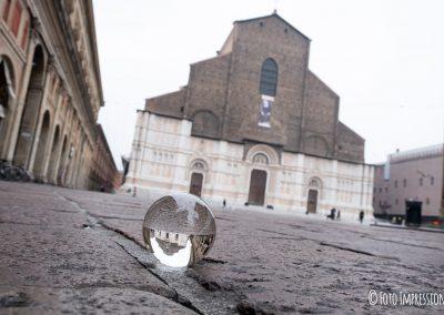 Bologna in una bolla - Basilica San Petronio - Piazza Maggiore