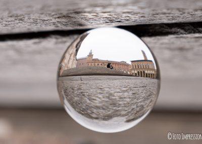 Bologna in una bolla - Piazza Maggiore - Palazzo D'Accursio - Palazzo Podesta