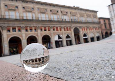 Bologna in una bolla - Palazzo dei Banchi - Piazza Maggiore