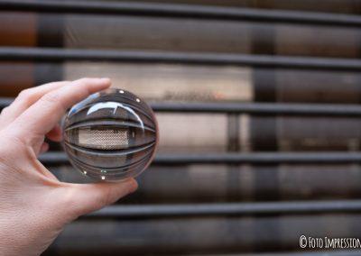 Bologna in una bolla - Via D'Azeglio - Swatch orologi