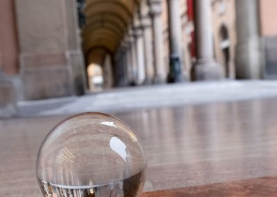 Bologna in una bolla - Portico Via Farini