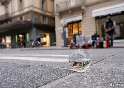 Bologna in una Bolla - Artisti di strada - Via Rizzoli