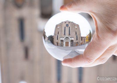 Bologna in una bolla - Piazza San Francesco - Chiesa gotica